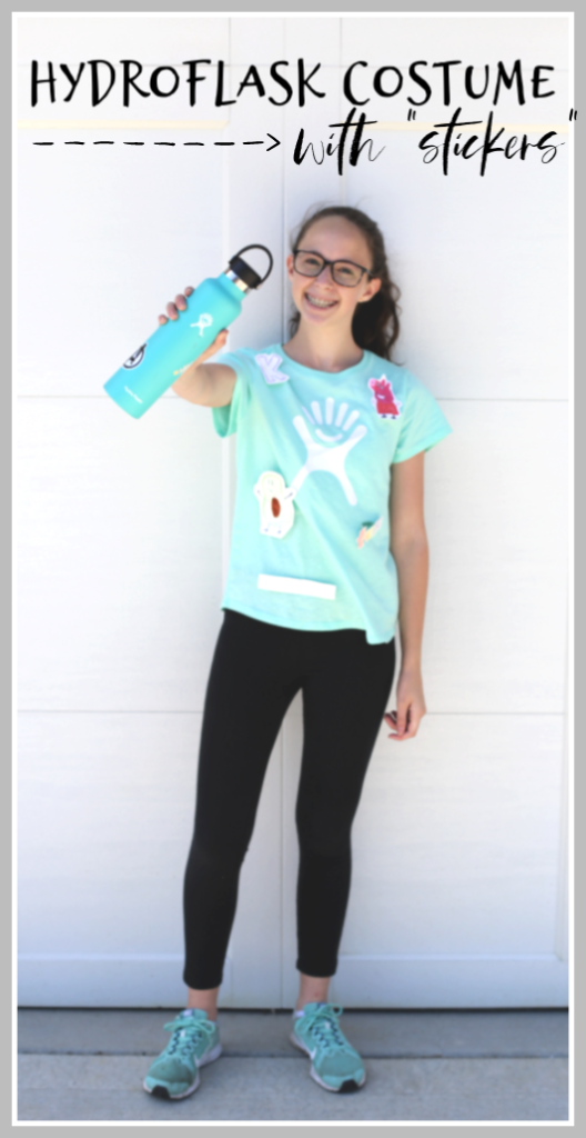 Hydroflask costume idea for teens