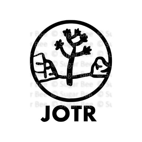 Joshua tree national park circle logo watermark