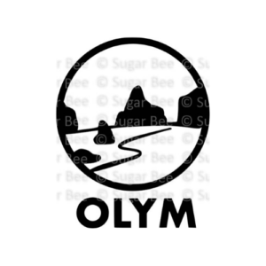 Olympic national park circle logo watermark