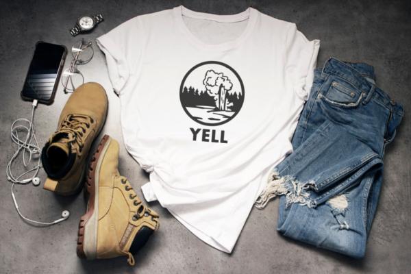 yellowstone tshirt cutfile