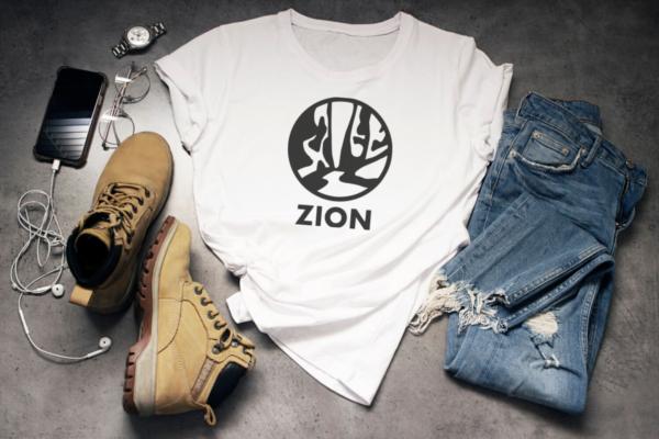 Zion National Park Cut file shirt