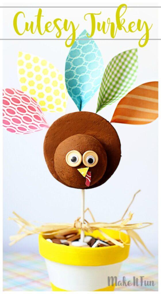 Cutesy turkey mif