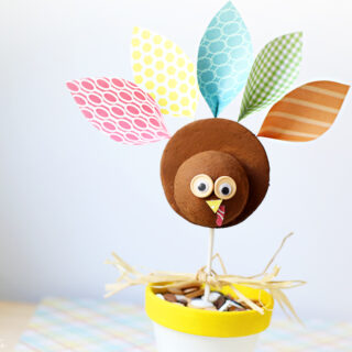 Cutesy Turkey Craft Idea