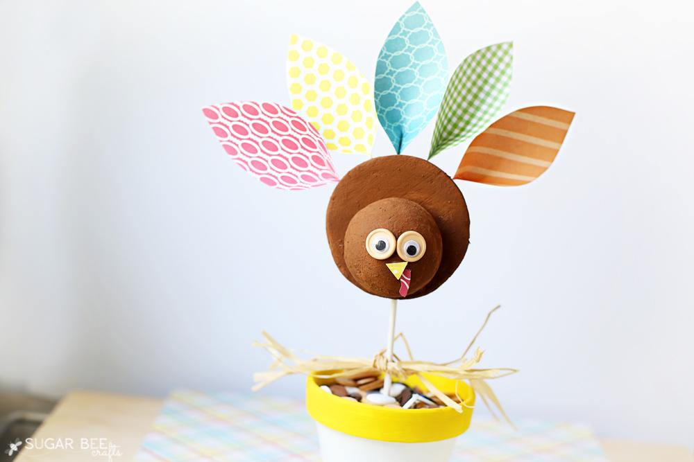 Cutesy Turkey Craft Idea
