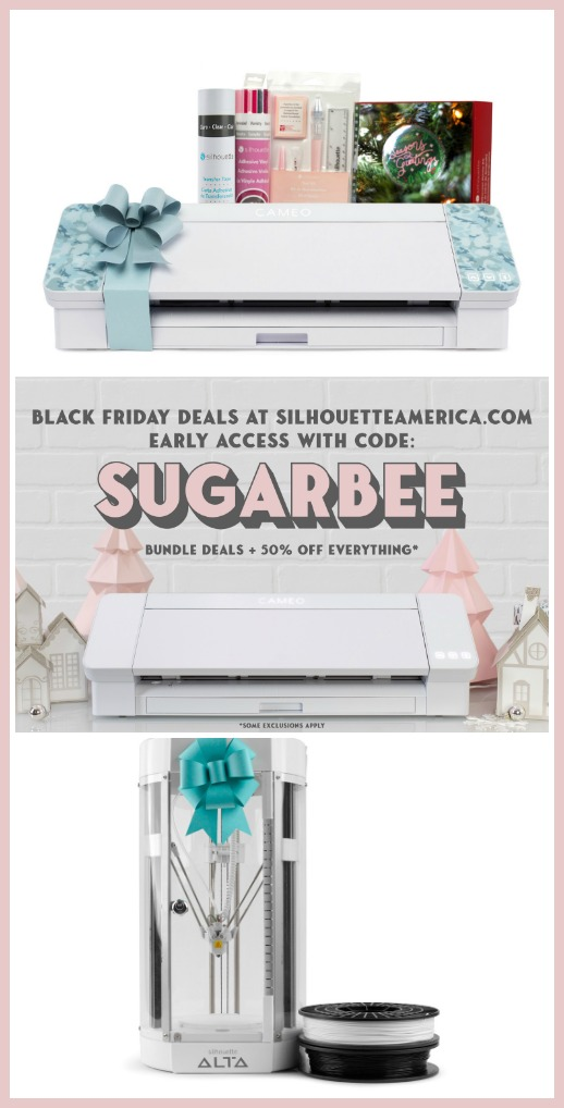 Silhouette black friday deal sale code