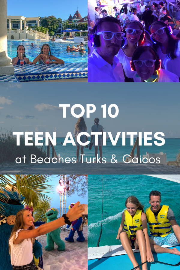 Teen activities at beaches turks and caicos 1
