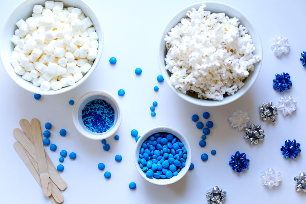 Easy popcorn ball 1