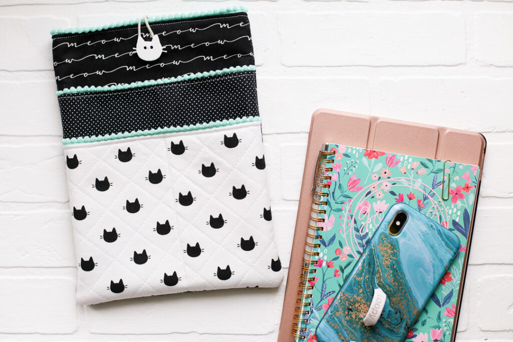 Diy ipad pouch sewing project 8