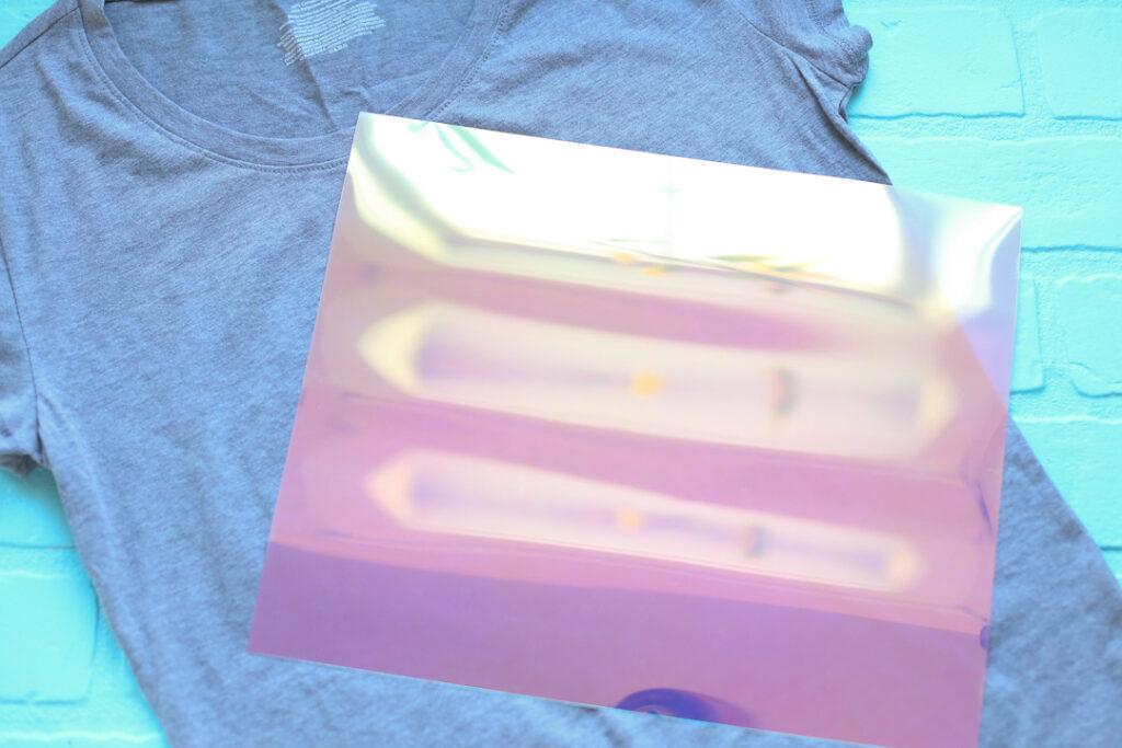 Holographic vinyl htv 3