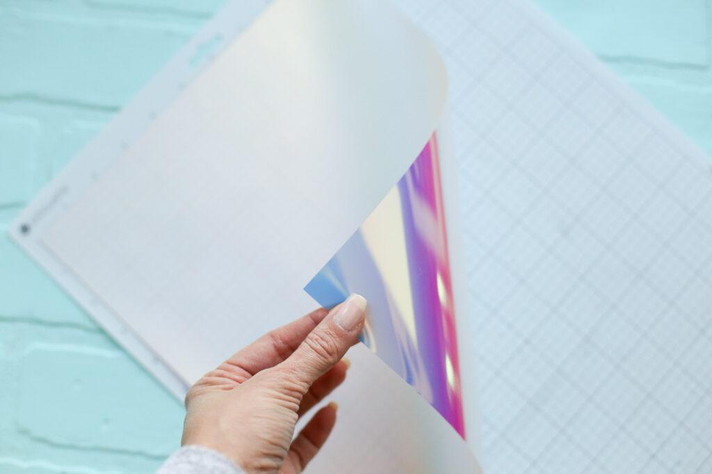 Holographic vinyl htv 4