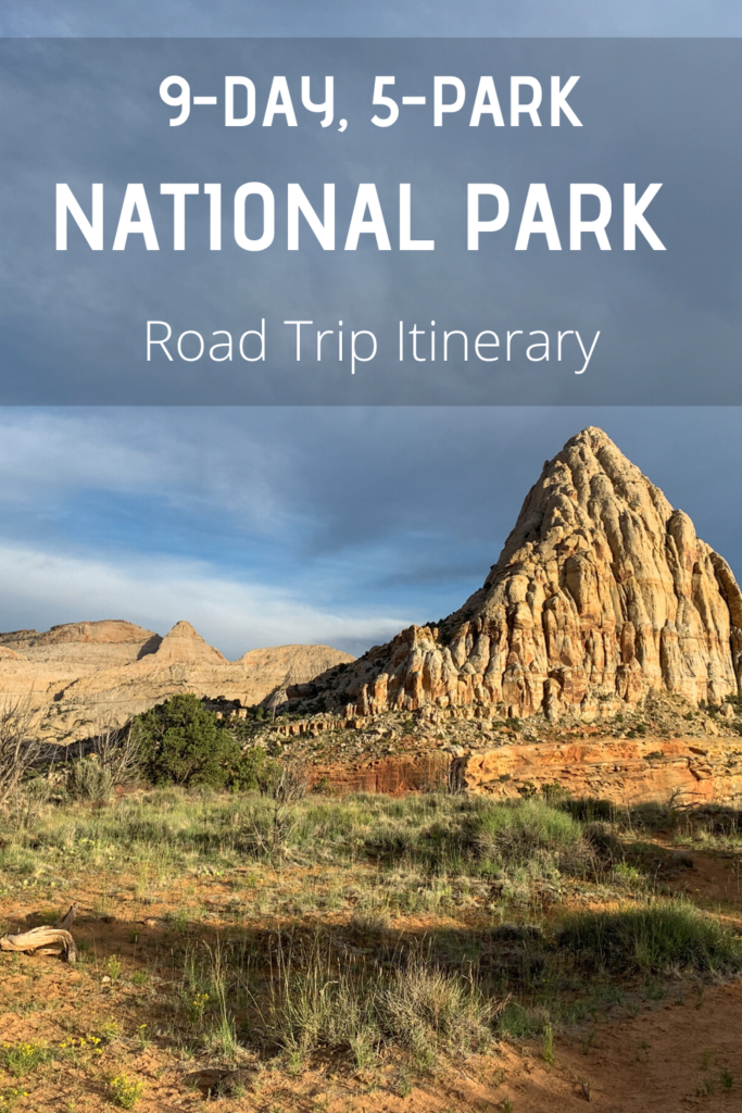9 day sw national park road trip itinerary 1
