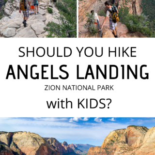 SHOULD YOU HIKE ANGELS LANDING WITH KIDS