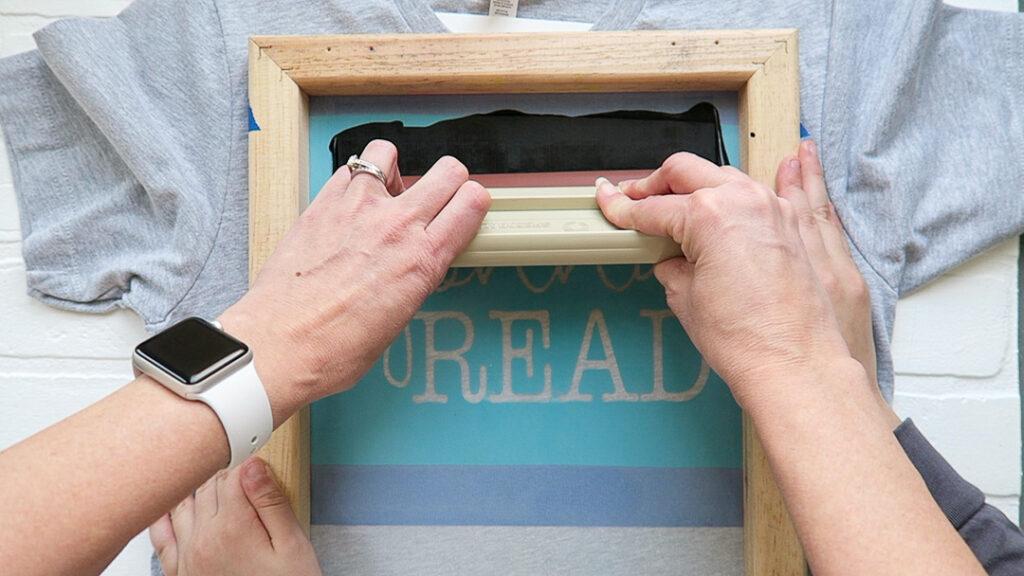 Basic screenprinting with vinyl 37