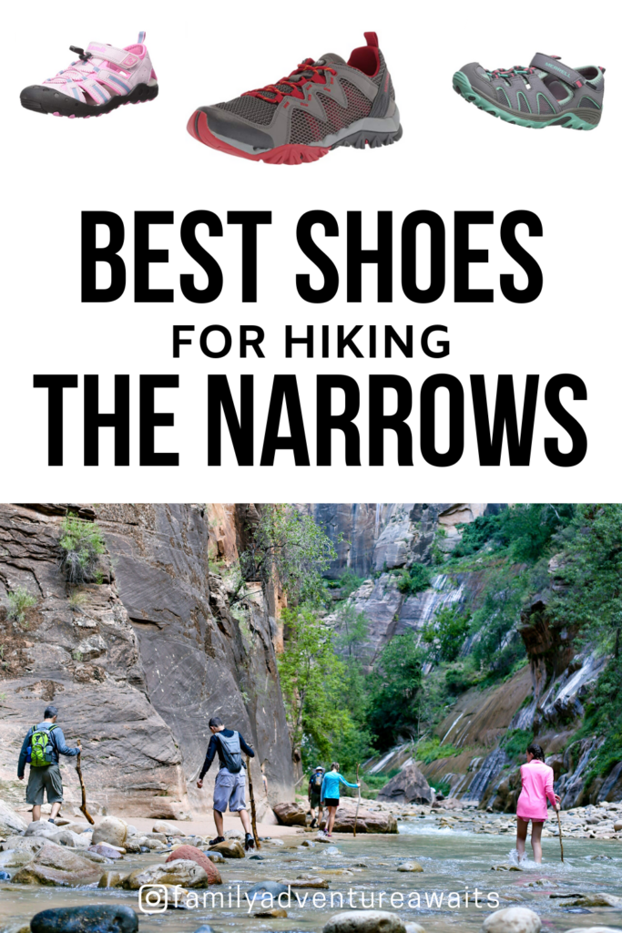 Best shoes for hiking the narrows 1
