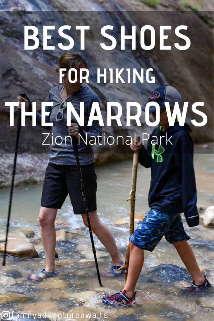 Best shoes for hiking the narrows