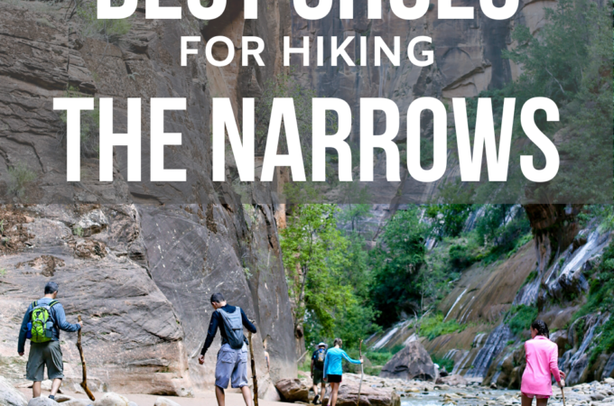 Best shoes for hiking the narrows square