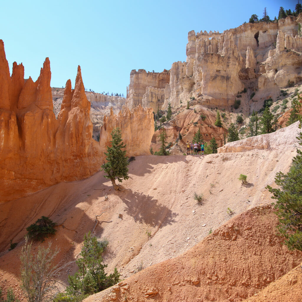 Bryce canyon national park hike 02