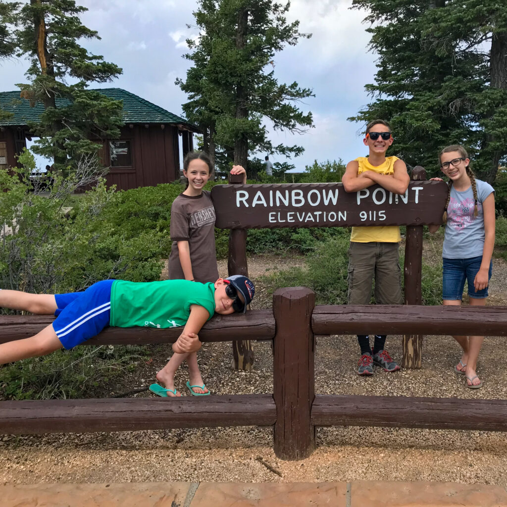 Day 5 Southwest family road trip itinerary Bryce canyon national park hike