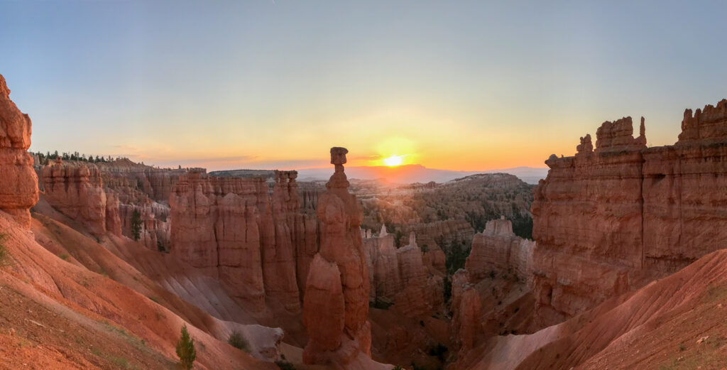 Bryce canyon national park hike 06