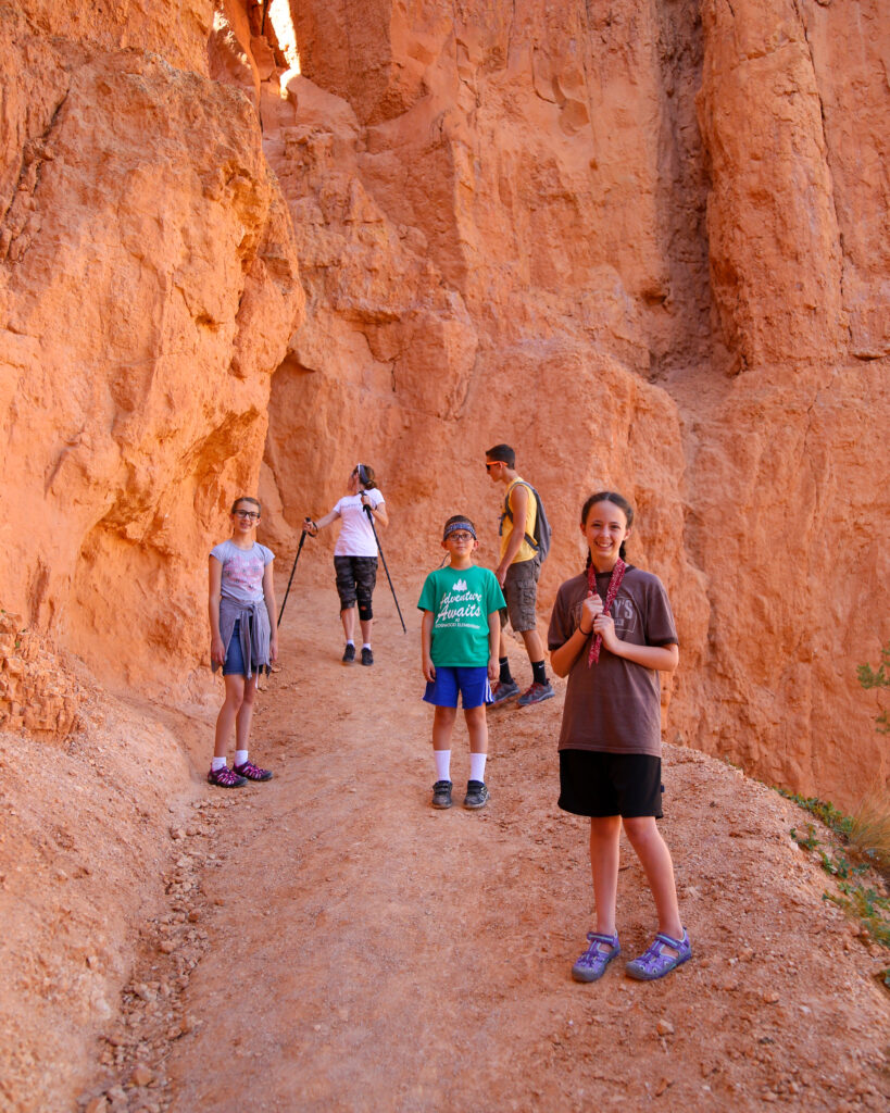 Bryce canyon national park hike 13