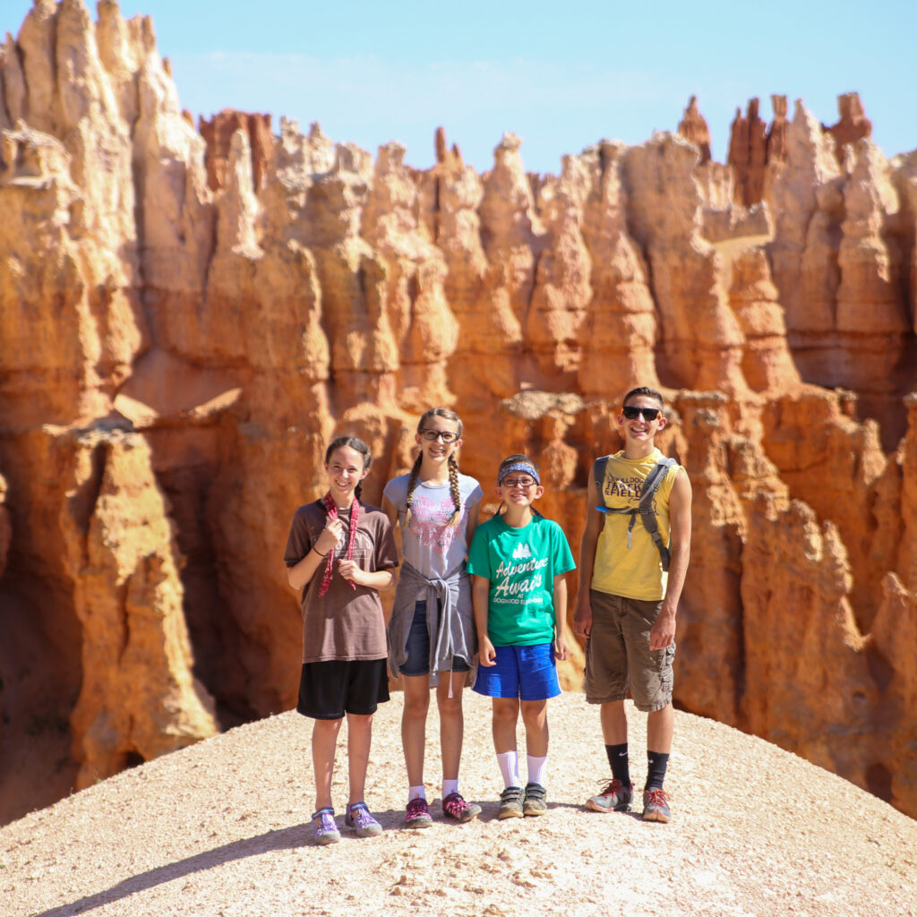 Bryce canyon national park hike 14