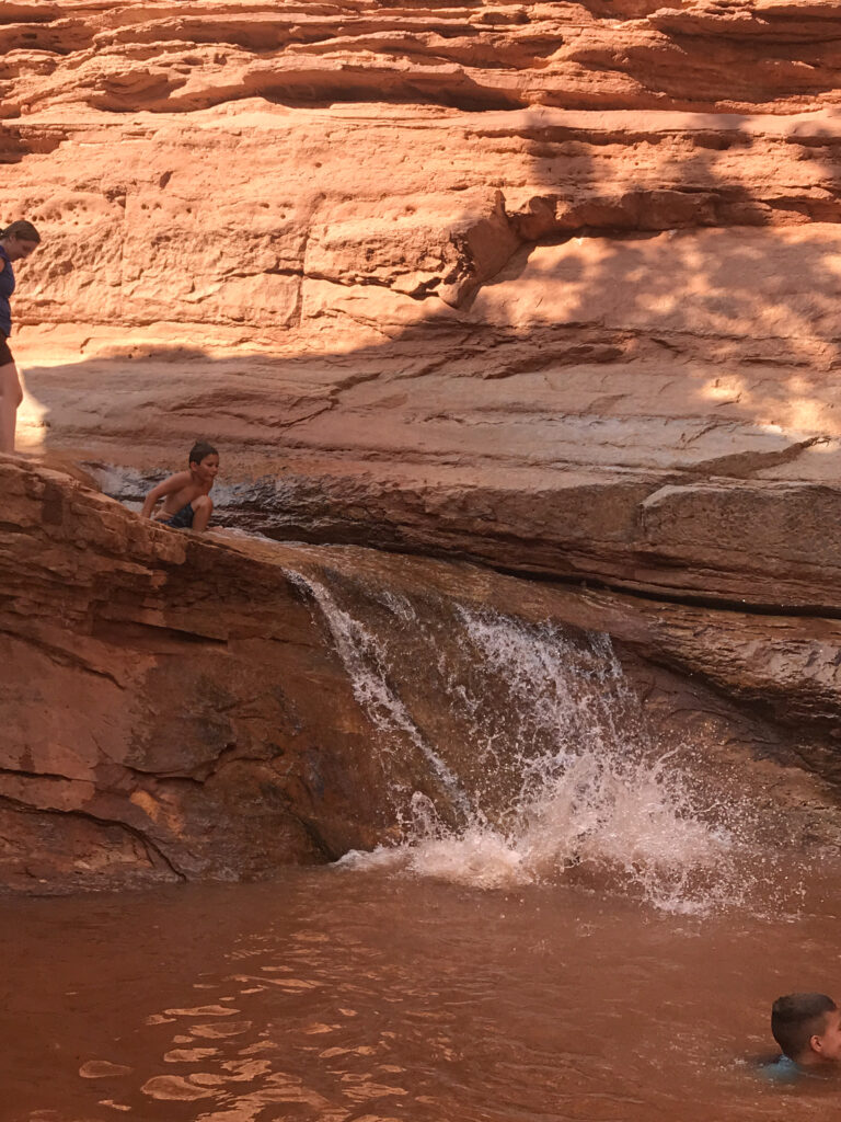Capitol reef family hike 02