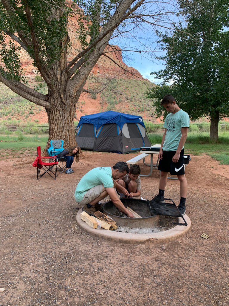 Capitol reef family hike 11
