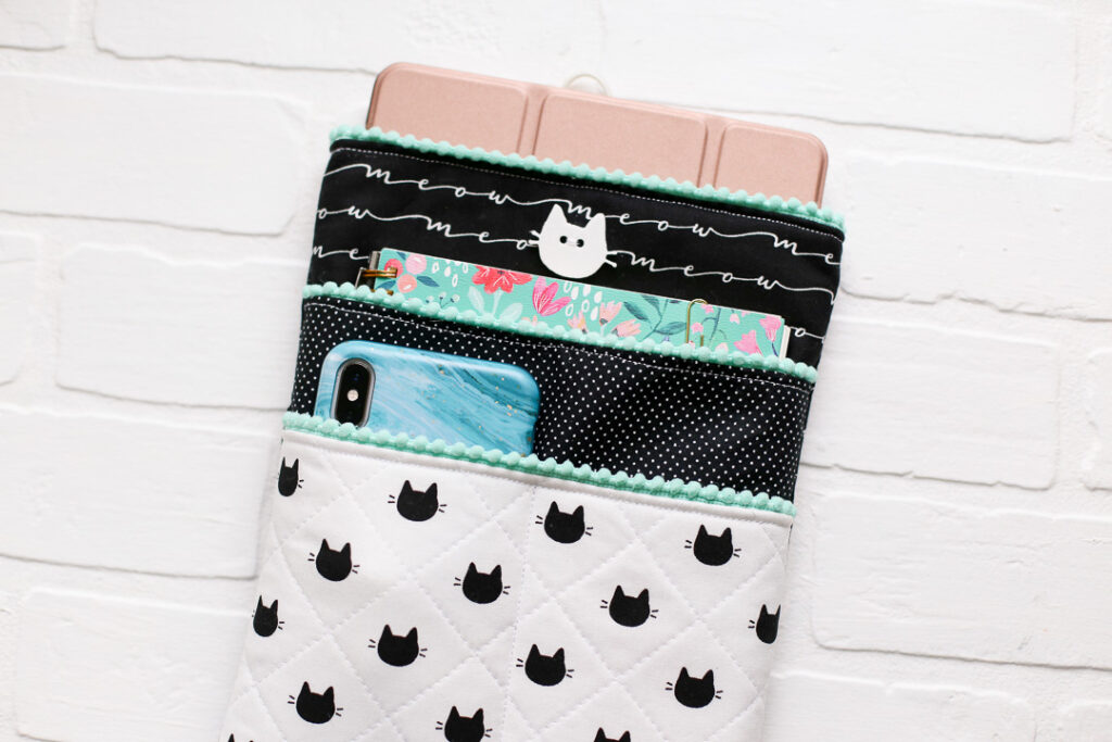 Diy ipad pouch sewing project 3