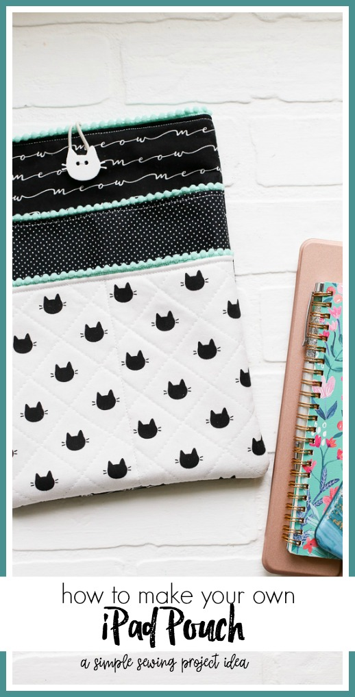 Ipad case pouch simple sewing idea
