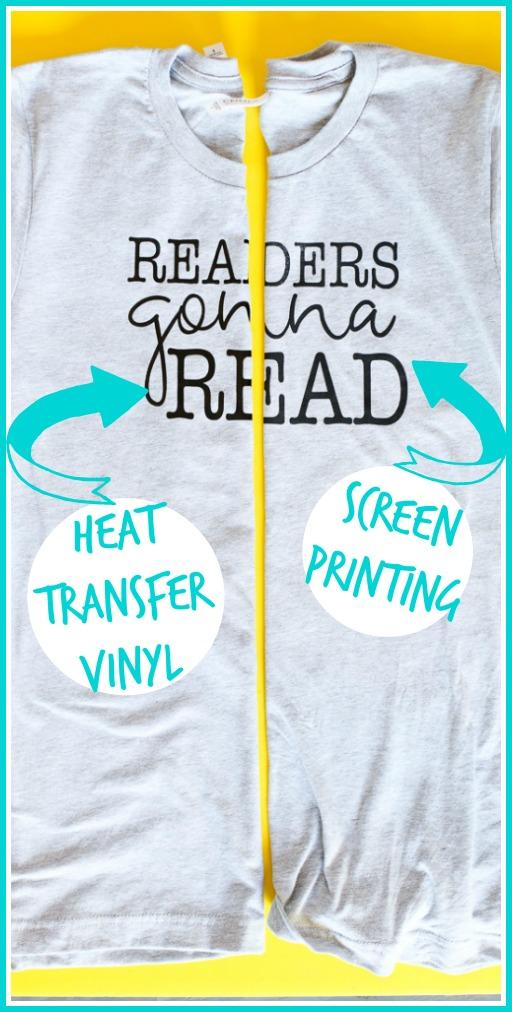 Screen printing vs htv vinyl