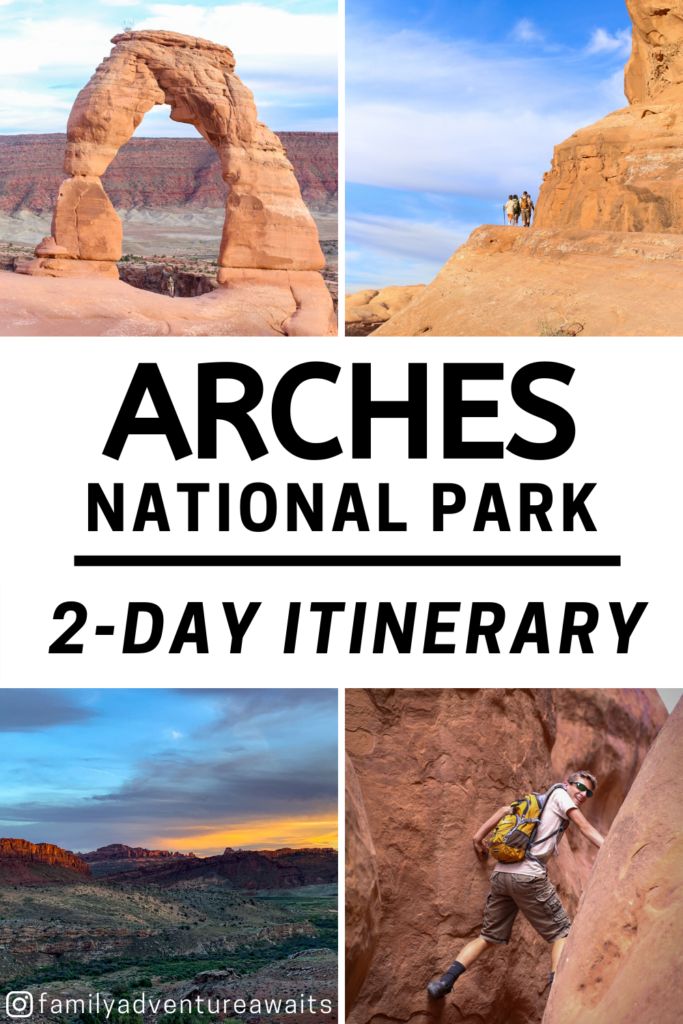 Two day arches itinerary