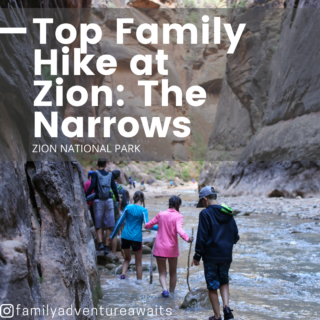 Narrows family hike