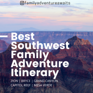 Southwest family road trip itinerary 1