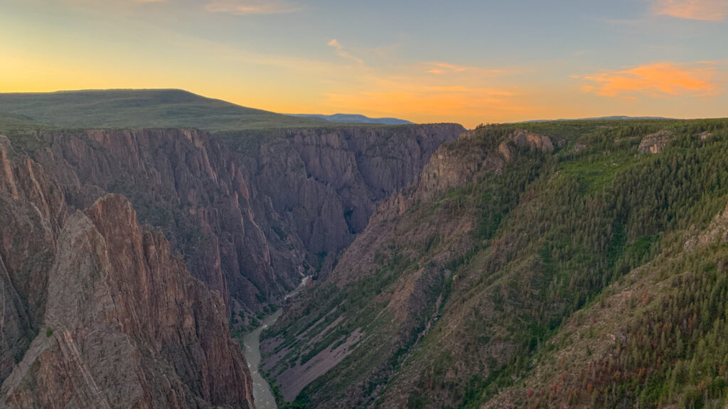 Black canyon of the gunnison zoom virtual backgrounds national parks 13 1