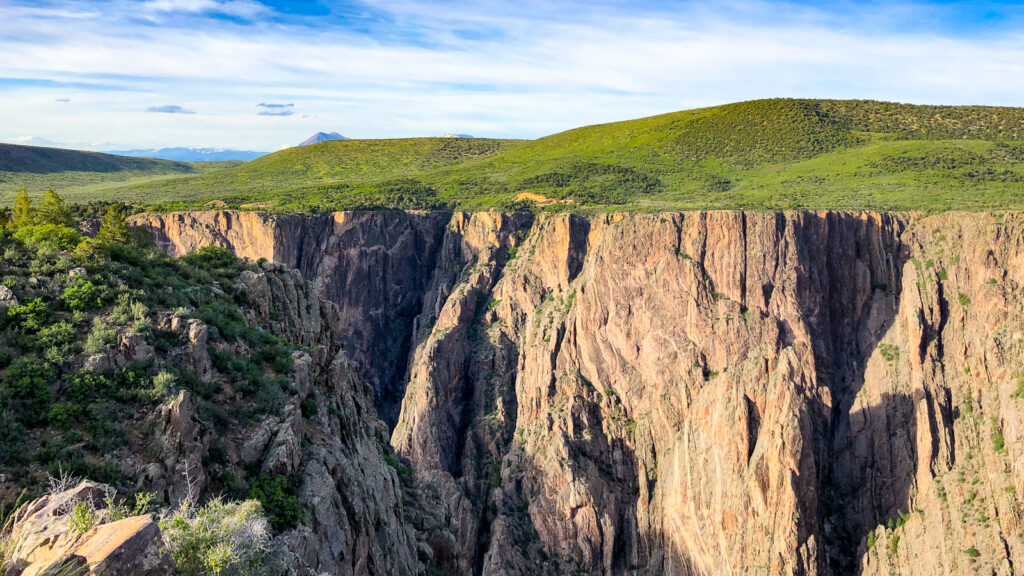 Black canyon of the gunnison zoom virtual backgrounds national parks 13 2