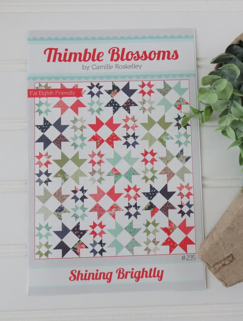 Blossoms quilt kit pack