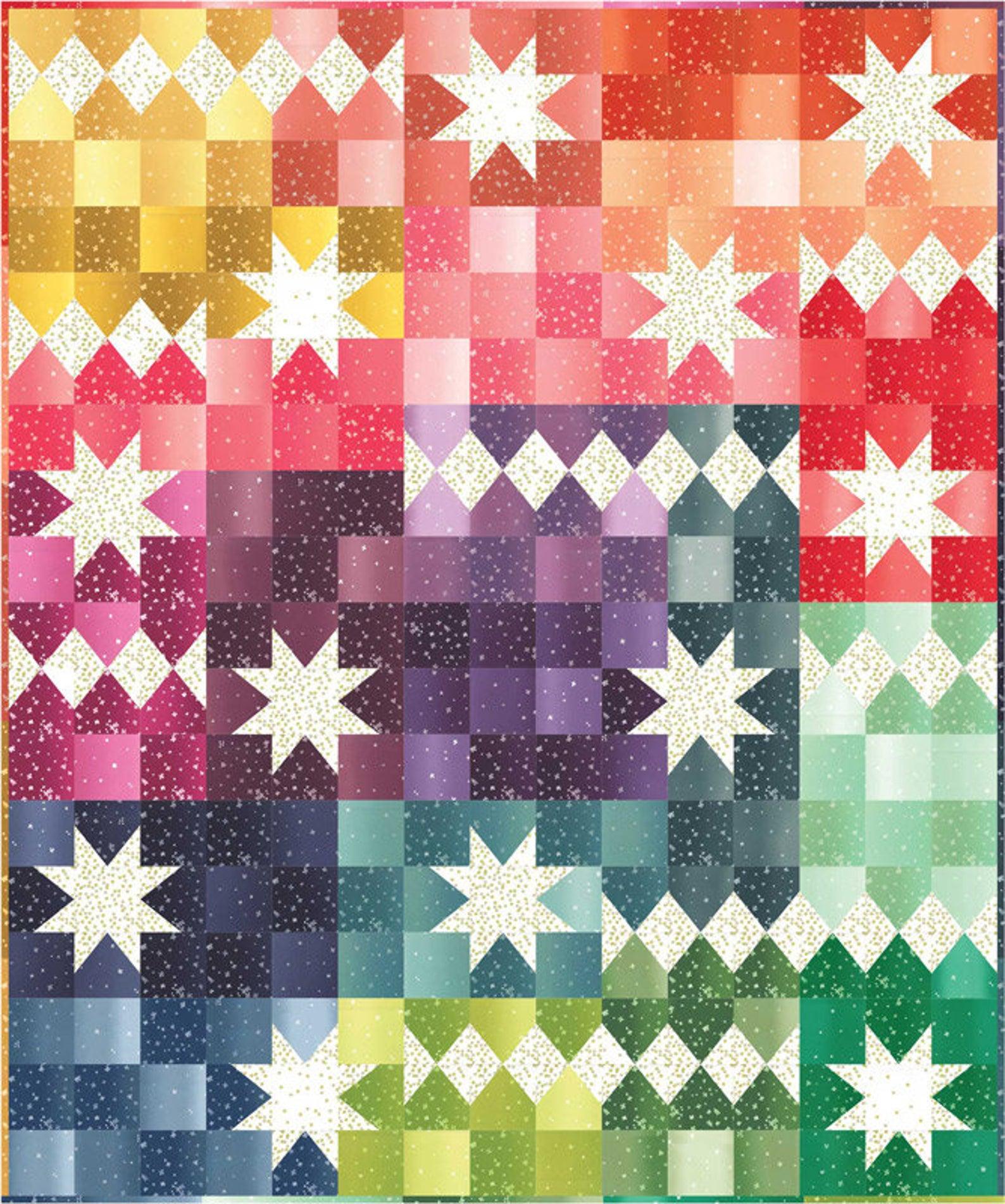 Bright quilt kit