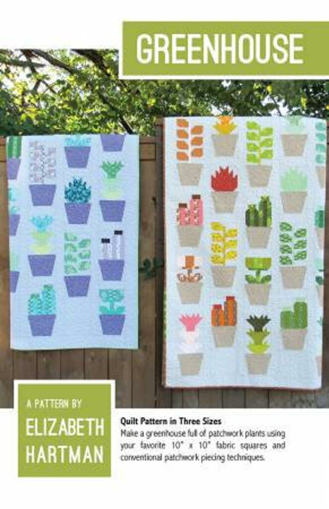 Cactus quilt pattern and kit