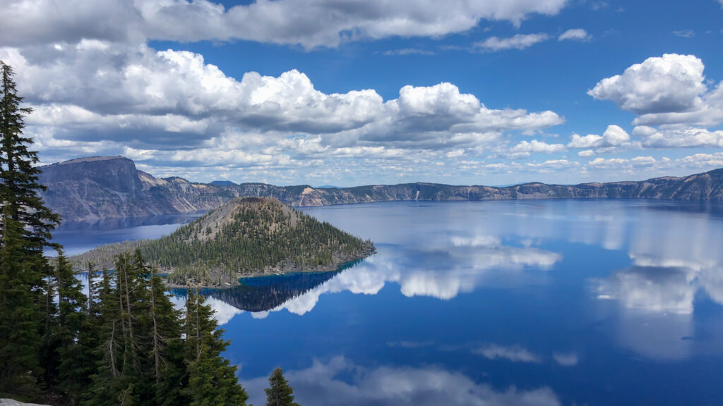 Crater lake zoom virtual backgrounds national parks 26