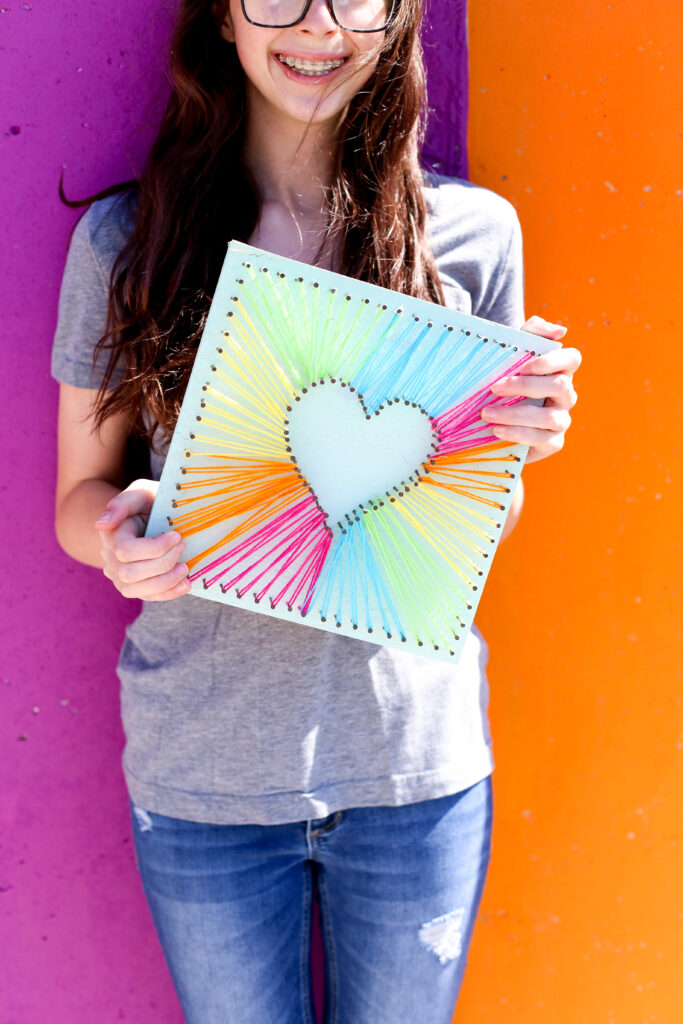 Easy string art idea 20