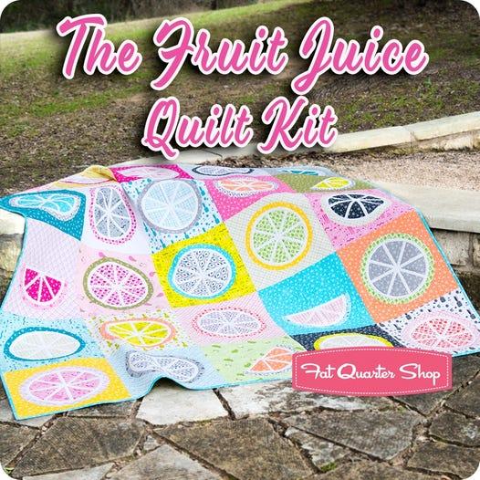 Fruit quilt block pattern quilt kit