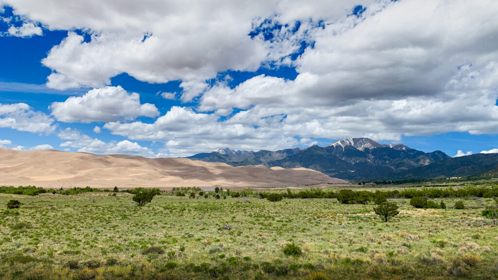 Great sand dunes zoom virtual backgrounds national parks 11 2