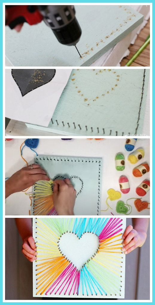 How to make string art project ideas