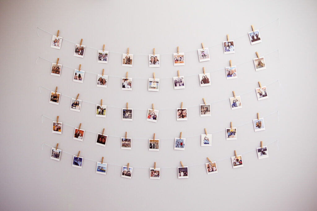 Instax polariod wall teen room idea 3 1