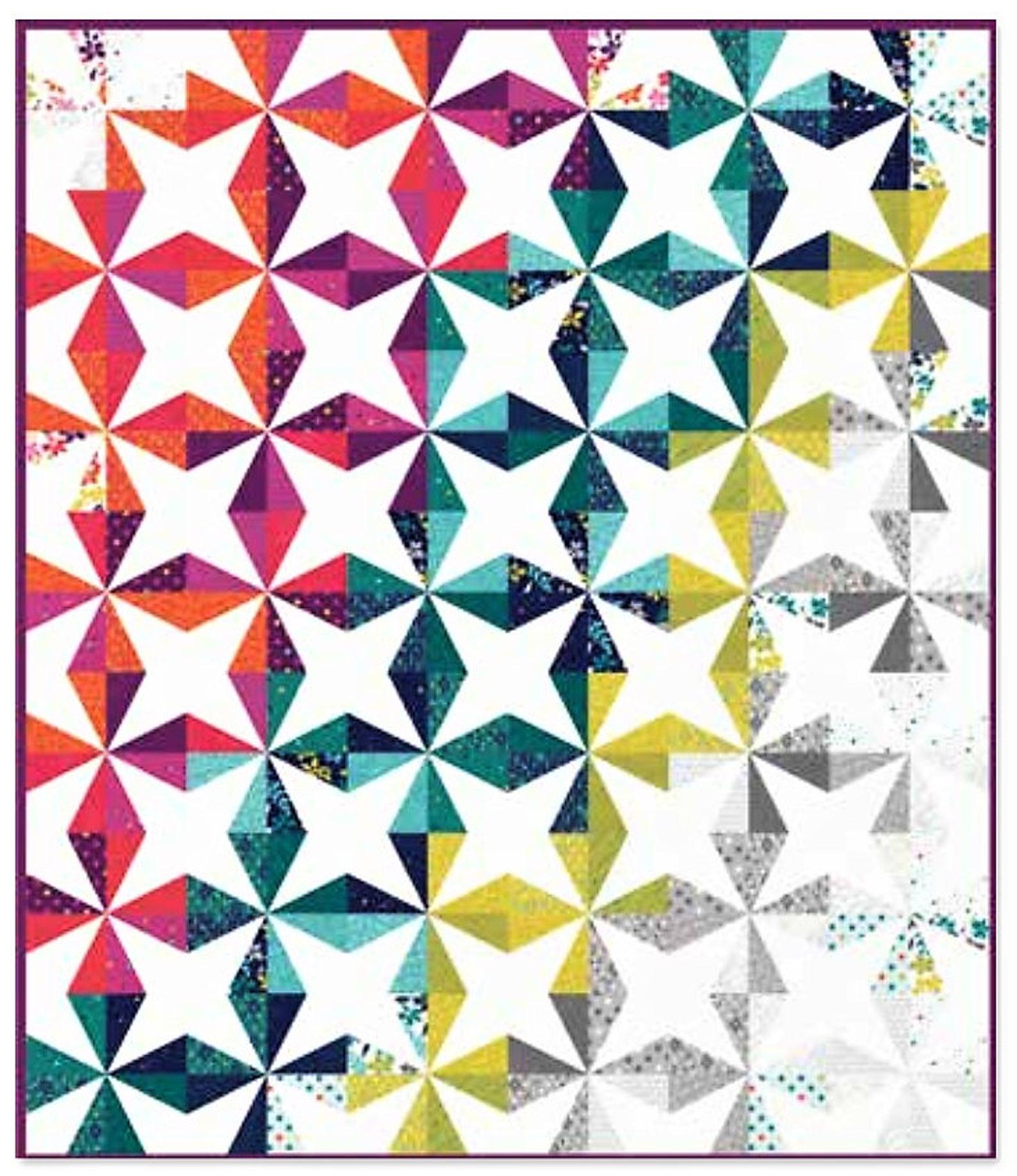 Kite square quilt kit
