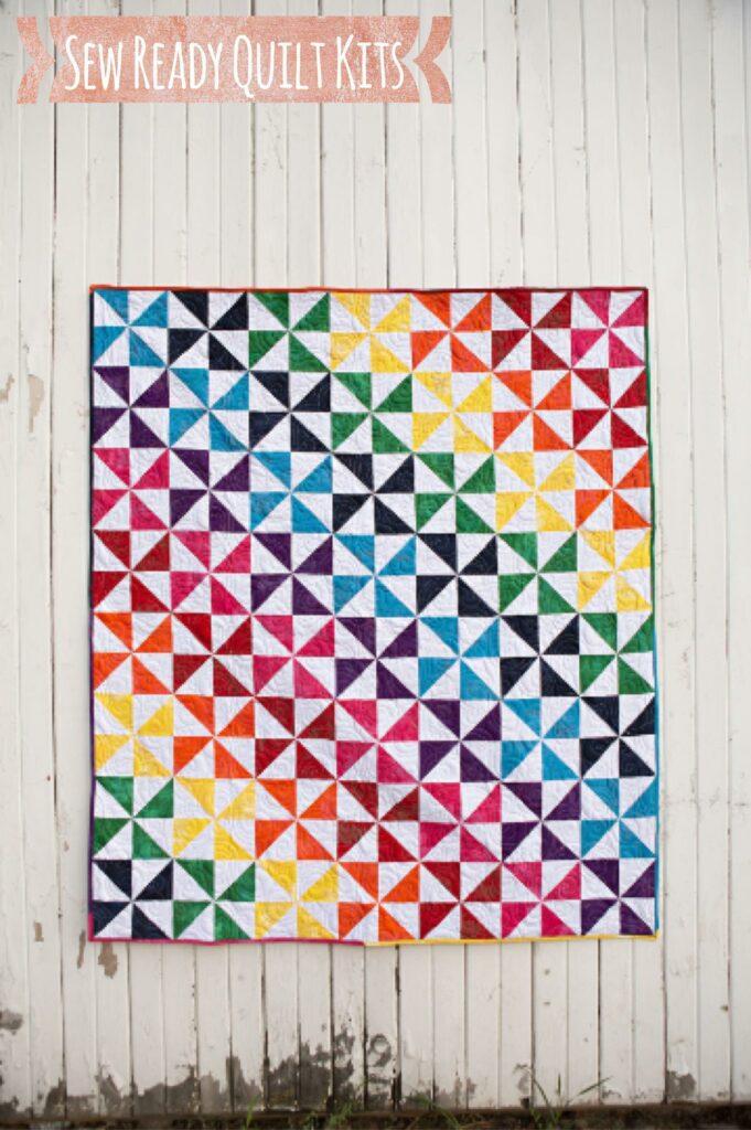 Pinwheel quilt kit beginner