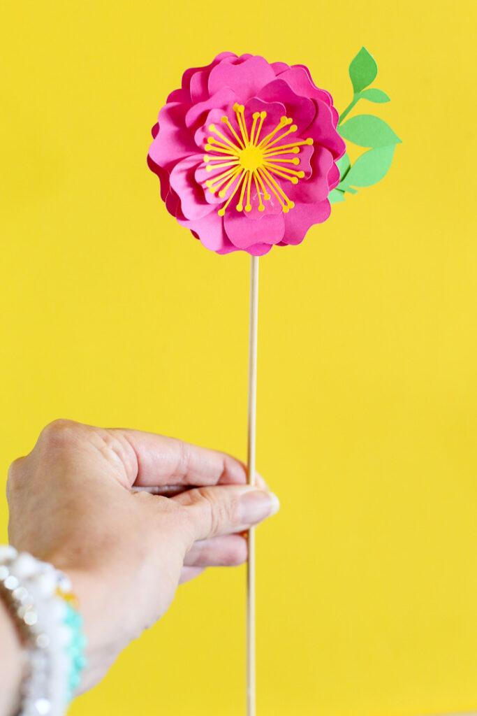 Simple paper flowers 36