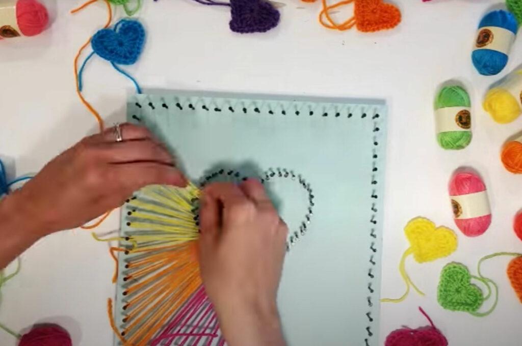 String art process tutotial