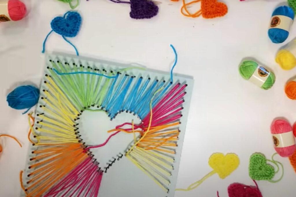 String art process tutotial 1