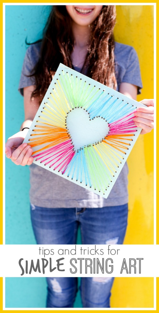 Tips and tricks for simple string art ideas 1